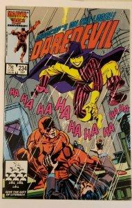 Daredevil #234 (1986) Madcasting NM 9.4 Steve Ditko