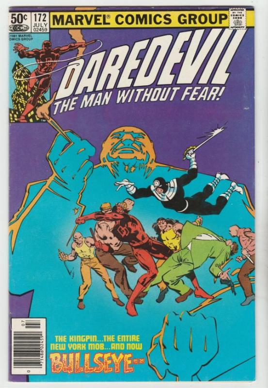 Daredevil #172 (Jul-81) VF/NM High-Grade Daredevil