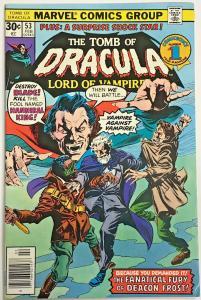 TOMB OF DRACULA#53 FN/VF 1976 MARVEL BRONZE AGE COMICS