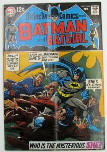 Detective Comics #384   Batman And Batgirl February 1969
