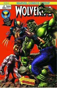 Return of Wolverine #1 Mico Suayan NYCC Variant Hulk 181 homage