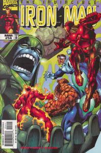 Iron Man (3rd Series) #14 VF/NM; Marvel | save on shipping - details inside