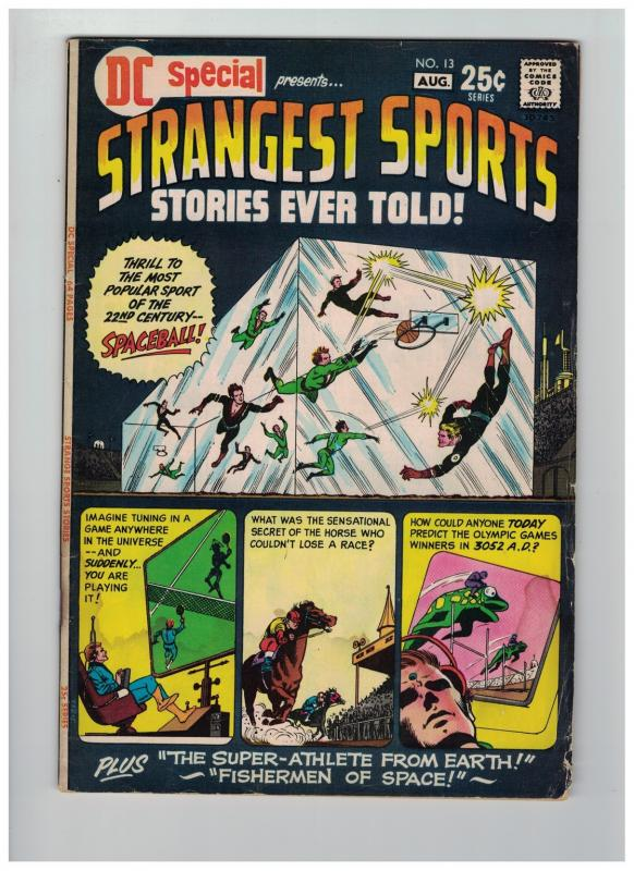 DC SPECIAL 13 VG STRANGEST SPORTS STORIES