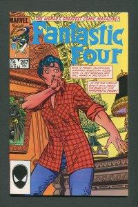 Fantastic Four #287  /  8.5 VFN+  /   February 1986