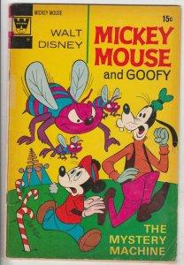 Mickey Mouse, Walt Disney's #137 (Jan-72) VG+ Affordable-Grade Uncle Scrooge ...