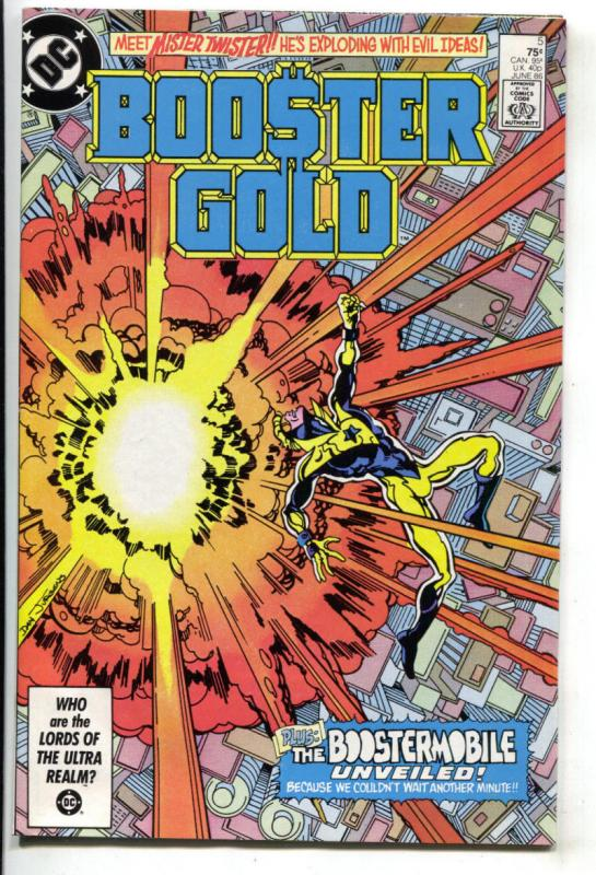 BOOSTER GOLD #5, VF/NM, DC, 1986, more in store