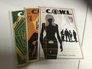 Cowl 3 4 5 Lot Nm Near Mint Image Comics