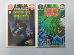Swamp Thing Annual #1+2 6.0 FN (1982+85)