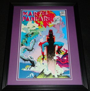 Marvel Fanfare #6 Spiderman Framed Cover Photo Poster 11x14 Official Repro