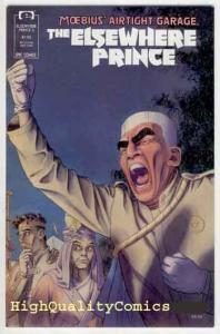 ELSEWHERE PRINCE #5, NM+, Moebius, Airtight Garage, 1990, Epic