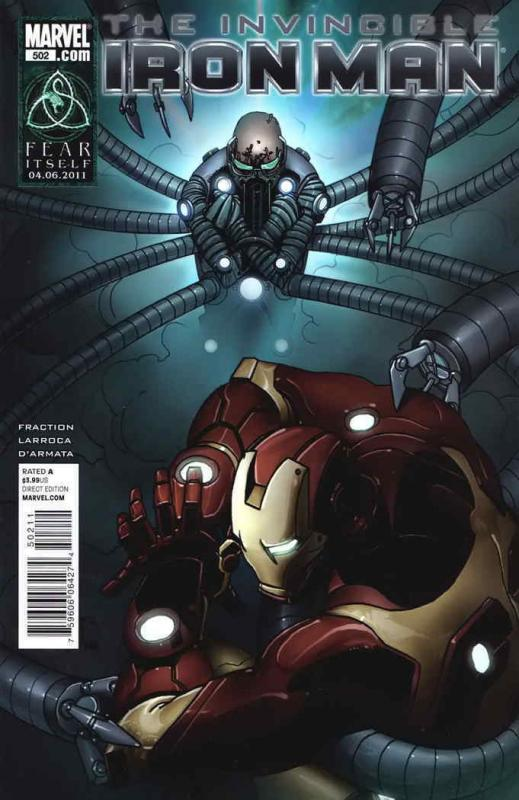 Invincible Iron Man #502 VF/NM; Marvel | save on shipping - details inside