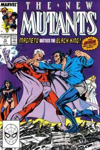 New Mutants (1983 series) #75, NM- (Stock photo)