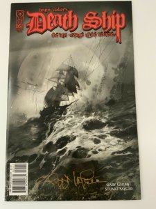 BRAM STOKERS DEATH SHIP LAST VOYAGE OF THE DEMETER #1 Signed Edition NM.