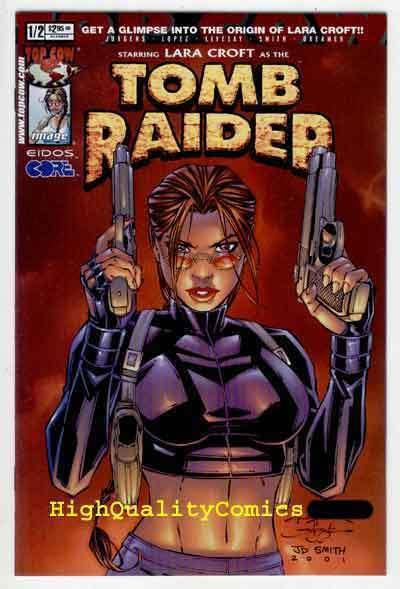 TOMB RAIDER #1/2, NM, Laura Croft, 2001, Angelina Jolie, more TR in store