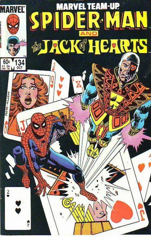 Marvel Team-Up #134 (Oct-83) NM- High-Grade Spider-Man