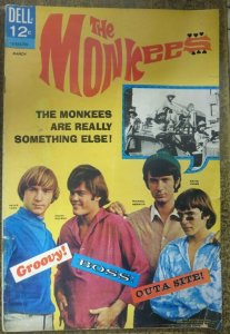 MONKEES #1 (Dell, 3/1967) FAIR (FR) Photo Cover!