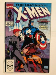 Uncanny X-Men #268 - Jim Lee Wolverine Captain America Black Widow Classic Cover
