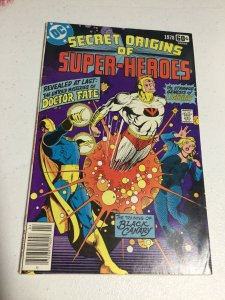 Secret Origins Of Super-Heroes Special 1978 Vf Very Fine 8.0 DC Comics
