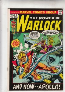 Warlock, the Power of  #3 (Dec-72) VF/NM High-Grade Adam Warlock