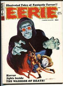 Eerie #10 1967- Gray Morrow cover-Warren Horror Magazine VF