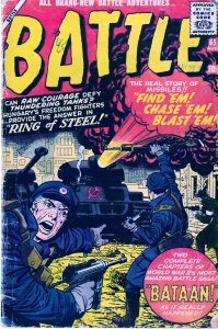 Battle (Mens Comics/Atlas) # 33