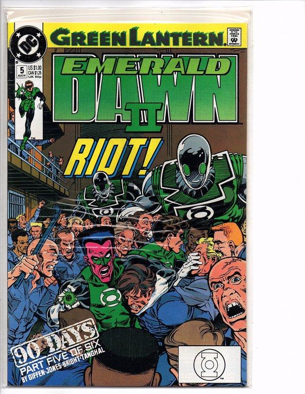 DC Comics Green Lantern EMERALD DAWN II  #5 Keith Giffen (story); Gerard Jones