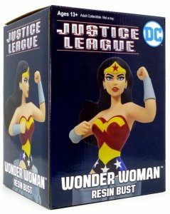 DC Wonder Woman Justice League Animated Series Resin Bust - New!