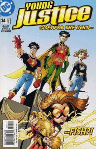 Young Justice #24 VF; DC | save on shipping - details inside