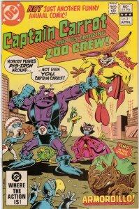 DC Comics! Captain Carrot and His Amazing Zoo Crew #2!