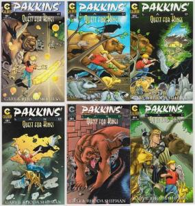 PAKKINS LAND QUEST FOR KINGS (1997 CALIBER) 1A,2-6