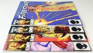 ? Firestar Limited Mini-series 1986 Compete Set 1,2,3 & 4 High Grade Comic