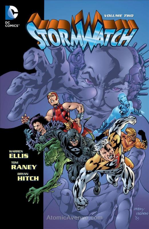 Stormwatch (2nd Series) Deluxe #2 VF; Image | save on shipping - details inside