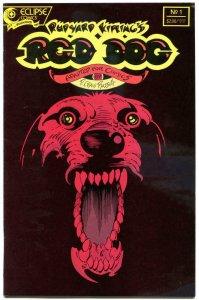 RED DOG #1, VF/NM, Rudyard Kipling, Craig Russell, Eclipse, 1988