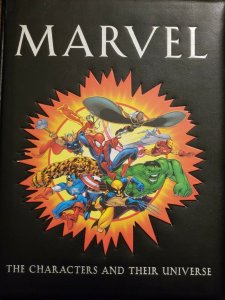 Marvel: The Characters and Their Universe by Michael Mallory (2001, Hardcover)