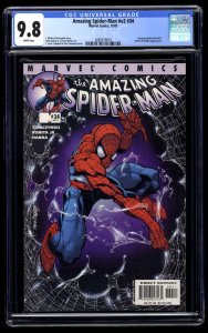 Amazing Spider-Man (1999) #34 CGC NM/M 9.8 White Pages