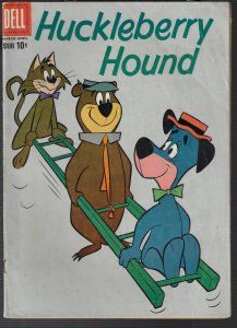 Huckleberry Hound #4 (Dell, 1960) FN