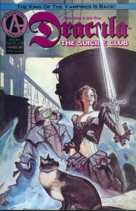 Dracula: The Suicide Club #4 VF/NM; Adventure   save on shipping - details insid