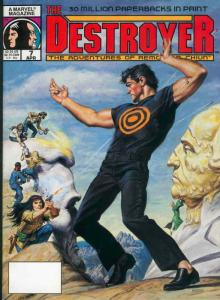 Destroyer, The (Magazine) #7 FN; Marvel   save on shipping - details inside