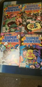 Super Powers Comic Book Lot