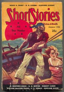 Short Stories Pulp January 10 1932- All Star issue- Sinclair Gluck