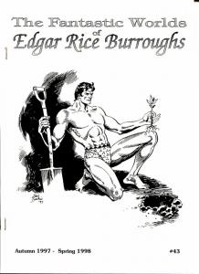 Fantastic Worlds of Edgar Rice Burroughs #43 1998-British-Baikie-Cawthorne-VF
