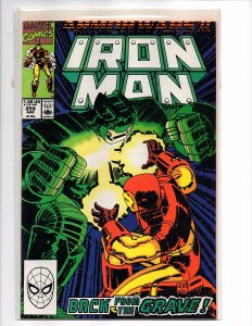 Marvel Comics Iron Man #259 Armor Wars II Part Two Titanium Man Romita,Jr Byrne