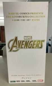 Kotobukiya Marvel Universe Vision Fine Art Statue Limited Erick Sosa