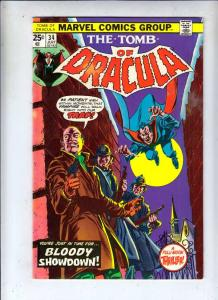 Tomb of Dracula #34 (Jul-75) VF/NM High-Grade Dracula