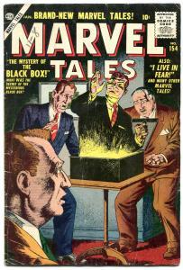 Marvel Tales #154 1956- Severin cover- Atlas Horror VG
