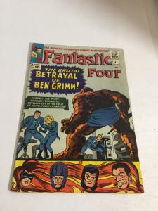Fantastic Four 41 Vg/Fn Very Good/Fine 5.0 Marvel Comics Silver Age