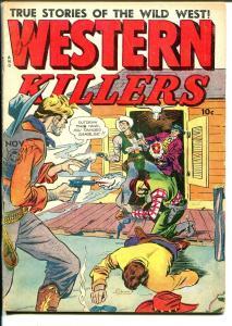 Western Killers #61 1948-Fox-Jack Cole-Leonard Starr-hanging-poison-VG