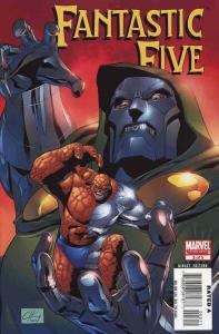 Fantastic Five (2nd Series) #3 VF/NM; Marvel | save on shipping - details inside