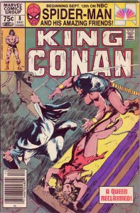 King Conan #8 (Newsstand) FN; Marvel   save on shipping - details inside