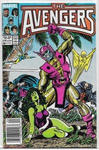 Avengers   vol. 1   #278 VG